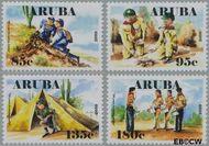 Aruba AR 440#443  2010 Scouting Aruba  cent  Postfris