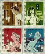 Berlin ber 193#196  1960 Vakantie voor Berlijnse kinderen  Postfris