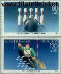Bundesrepublik BRD 1238#1239  1985 Sporthulp  Postfris