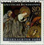 Bundesrepublik BRD 1303#  1986 Kerstmis  Postfris