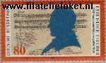 Bundesrepublik BRD 1425#  1989 Silcher, Friedrich  Postfris