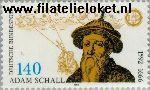 Bundesrepublik BRD 1607#  1992 Bell, Johann Adam Schall von  Postfris