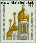 Bundesrepublik BRD 1687#  1993 Bezienswaardigheden  Postfris