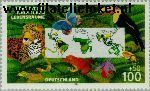 Bundesrepublik BRD 1867#  1996 Redt het tropische regenwoud  Postfris