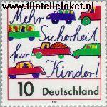 Bundesrepublik BRD 1954#  1997 Veiligheid in het verkeer  Postfris