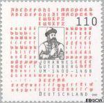Bundesrepublik BRD 2098#  2000 Gutenberg, Johannes  Postfris
