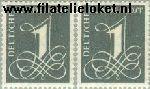 Bundesrepublik BRD 226X+285X  1958 Aanvulzegel  Postfris