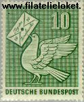 Bundesrepublik BRD 247#  1956 Dag van de Postzegel  Postfris