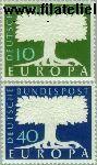 Bundesrepublik BRD 268#269  1957 C.E.P.T.- Boom  Postfris