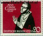 Bundesrepublik BRD 301#  1958 Kues, Nikolaus von  Postfris