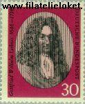 Bundesrepublik BRD 518#  1966 Leibniz, Gottfried Wilhelm  Postfris