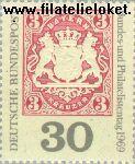 Bundesrepublik BRD 601#  1969 Filatelistendag  Postfris