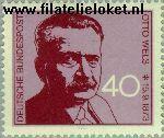 Bundesrepublik BRD 780#  1973 Wels, Otto  Postfris