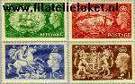 Groot-Brittannië grb 251#254  1951 George George VI  Postfris