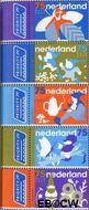 Nederland NED 2603#2607  2008 Nederlandse Kabouters  cent  Gestempeld