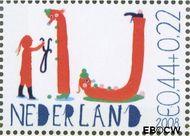 Nederland NED 2608e  2008 Laat kinderen leren 44+22 cent  Gestempeld
