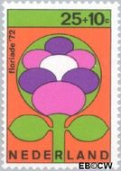 Nederland NL 1004  1972 Floriade 25+10 cent  Gestempeld