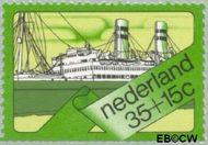 Nederland NL 1028  1973 Schepen 35+15 cent  Gestempeld