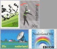 Nederland NL 1032#1035  1973 Diverse onderwerpen  cent  Gestempeld