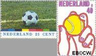 Nederland NL 1050#1051  1974 Sport  cent  Gestempeld