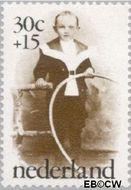 Nederland NL 1059  1974 Oude kinderfoto's 30+15 cent  Gestempeld