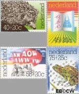 Nederland NL 1085#1088  1976 Diversen  cent  Gestempeld