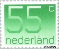 Nederland NL 1114  1981 Cijfer type 'Crouwel' 55 cent  Gestempeld