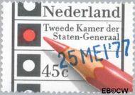 Nederland NL 1132#  1977 Verkiezingen Tweede Kamer  cent  Gestempeld