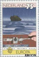 Nederland NL 1180  1979 C.E.P.T.- Geschiedenis posterijen 75 cent  Gestempeld