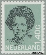 Nederland NL 1243  1982 Koningin Beatrix- Type 'Struycken' 140 cent  Gestempeld