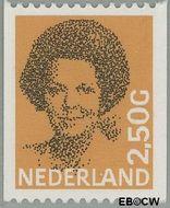Nederland NL 1246a  1986 Koningin Beatrix- Type 'Struycken' 250 cent  Postfris