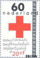 Nederland NL 1290  1983 Rode Kruis- doelstellingen 60+20 cent  Gestempeld