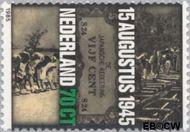 Nederland NL 1332  1985 Verzet en bevrijding 70 cent  Gestempeld