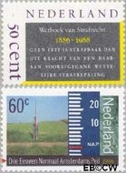 Nederland NL 1345#1346  1986 Diversen  cent  Gestempeld