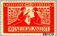 Nederland NL 135  1923 Tooropzegels 10+5 cent  Gestempeld