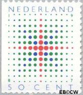 Nederland NL 1391  1987 Fonkelende ster 50 cent  Gestempeld