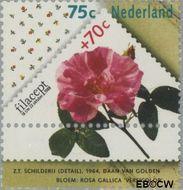 Nederland NL 1397a  1988 Postzegeltentoonstelling Filacept 75+70 cent  Gestempeld