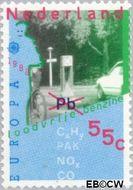 Nederland NL 1404  1988 C.E.P.T.- Transport en communicatie 55 cent  Gestempeld
