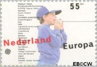 Nederland NL 1428  1989 C.E.P.T.- Kinderspelen 55 cent  Gestempeld