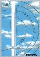 Nederland NL 1445  1990 Het weer 65+35 cent  Gestempeld