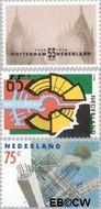 Nederland NL 1448#1450  1990 Rotterdam  cent  Postfris
