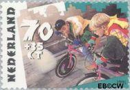 Nederland NL 1484  1991 Kinderspelen 70+35 cent  Postfris