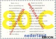 Nederland NL 1516  1992 Invoering Nieuw Burgerlijk Wetboek 80 cent  Gestempeld