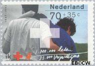 Nederland NL 1533  1992 Rode Kruis 70+35 cent  Gestempeld
