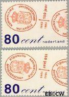 Nederland NL 1551#1552  1993 Kon.Notariële Broederschap  cent  Gestempeld