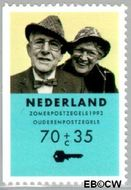 Nederland NL 1560b  1993 Ouderen 70+35 cent  Gestempeld