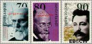 Nederland NL 1568#1570  1993 Nobelprijswinnaars  cent  Postfris