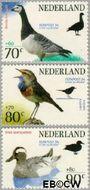 Nederland NL 1598#1600  1994 Postzegeltentoonstelling Fepapost  cent  Postfris