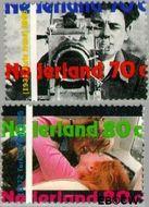 Nederland NL 1634#1635  1995 Internationaal Jaar van de film  cent  Gestempeld