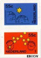 Nederland NL 1662#1663  1995 Gereduceerd tarief  cent  Gestempeld